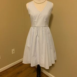 Seersucker Lauren James dress